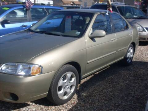 2003 Nissan Sentra for sale at Flag Motors in Islip Terrace NY