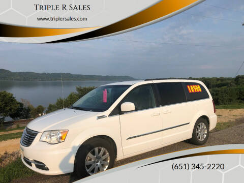 2014 Chrysler Town and Country for sale at Triple R Sales in Lake City MN