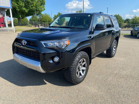 2017 Toyota 4Runner for sale at Steve Johnson Auto World in West Jefferson NC