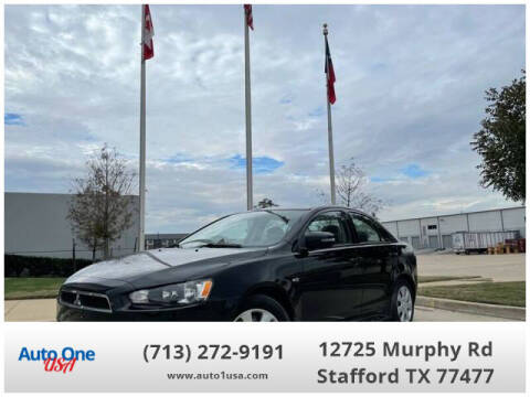 2015 Mitsubishi Lancer for sale at Auto One USA in Stafford TX