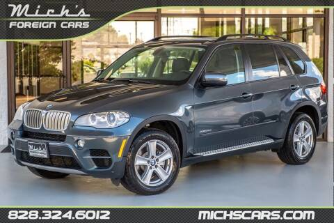 2011 BMW X5 for sale at Mich's Foreign Cars in Hickory NC