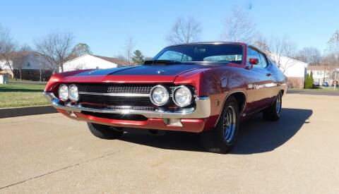 1970 Ford Torino for sale at WEST PORT AUTO CENTER INC in Fenton MO