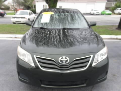 2010 Toyota Camry for sale at Maluda Auto Sales in Valdosta GA