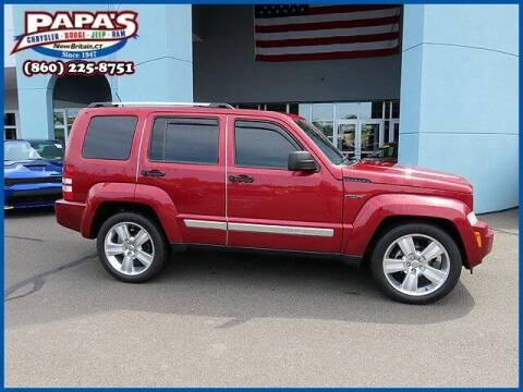 2012 Jeep Liberty for sale at Papas Chrysler Dodge Jeep Ram in New Britain CT