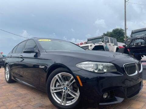 2014 BMW 5 Series for sale at Cars of Tampa in Tampa FL