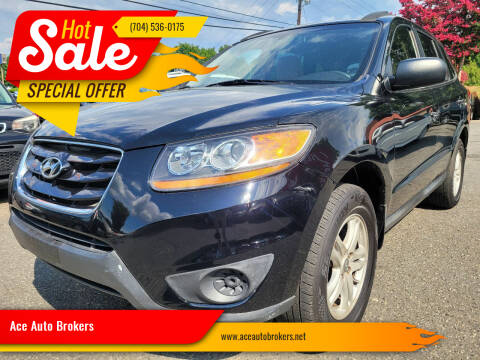 2010 Hyundai Santa Fe for sale at Ace Auto Brokers in Charlotte NC