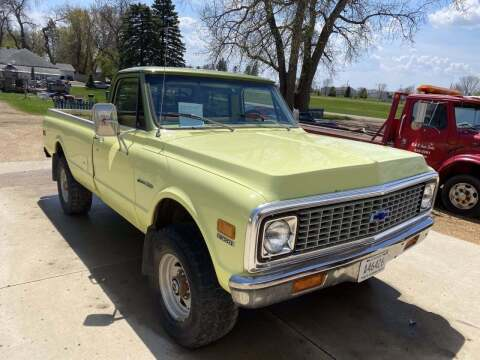 1972 Chevrolet C/K 20 Series for sale at B & B Auto Sales in Brookings SD
