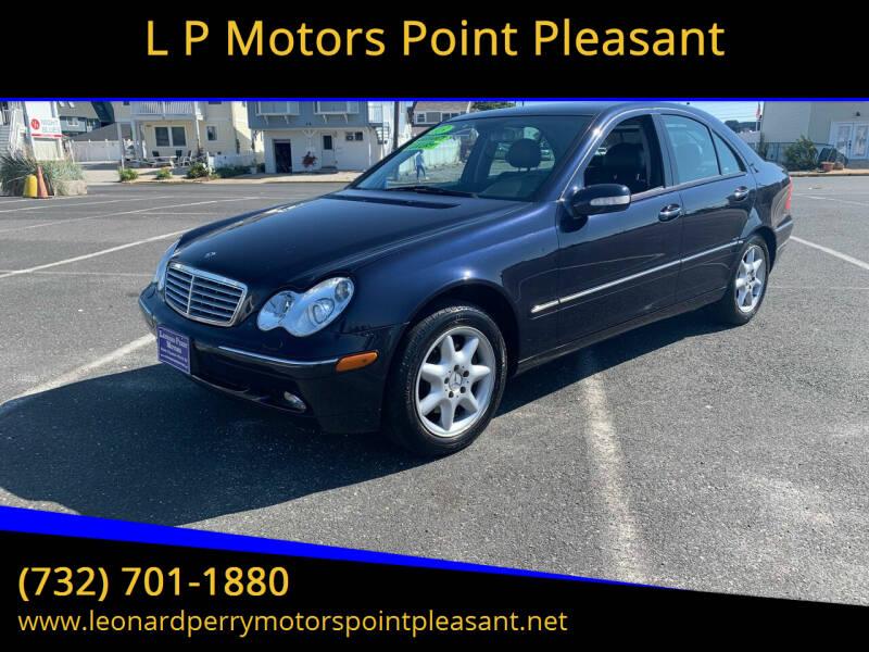 2003 Mercedes-Benz C-Class for sale at L P Motors Point Pleasant in Point Pleasant NJ