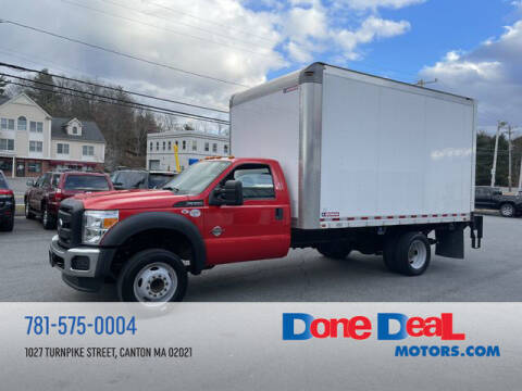 2016 Ford F-550 Super Duty for sale at DONE DEAL MOTORS in Canton MA
