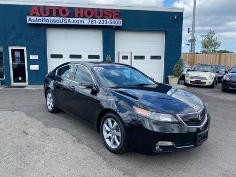 2013 Acura TL for sale at Saugus Auto Mall in Saugus MA