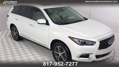2017 Infiniti QX60 for sale at Excellence Auto Direct in Euless TX