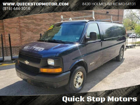 2006 Chevrolet Express Cargo for sale at Quick Stop Motors in Kansas City MO