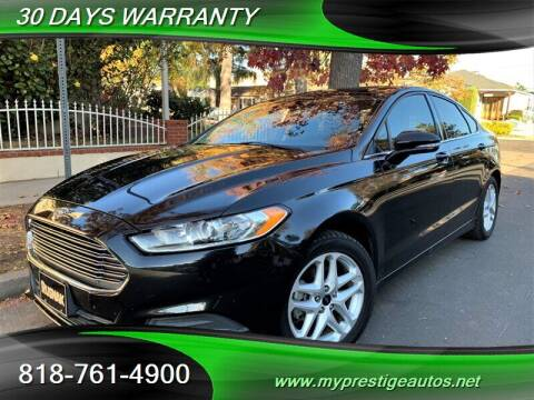 2014 Ford Fusion for sale at Prestige Auto Sports Inc in North Hollywood CA