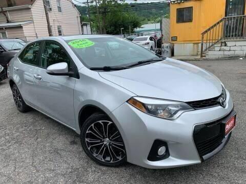 2016 Toyota Corolla for sale at Auto Universe Inc. in Paterson NJ