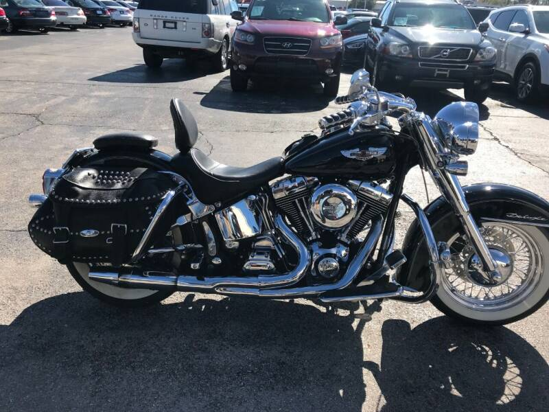 2005 Harley-Davidson FLSTNI Softail Deluxe for sale at United Auto Sales in Oklahoma City OK