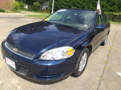2007 Chevrolet Impala for sale at Hilton Motors Inc. in Newport News VA