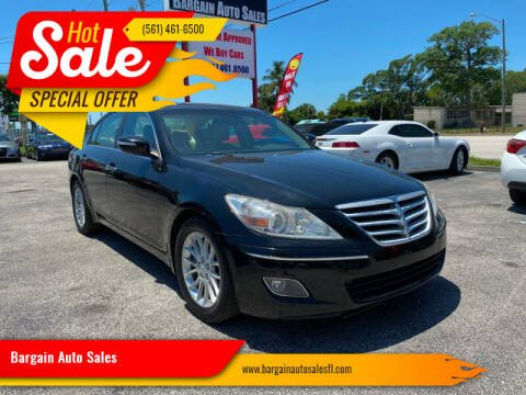 2010 Hyundai Genesis for sale at Bargain Auto Sales in West Palm Beach FL