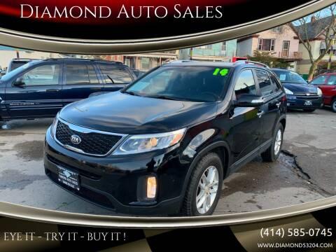 2014 Kia Sorento for sale at Diamond Auto Sales in Milwaukee WI