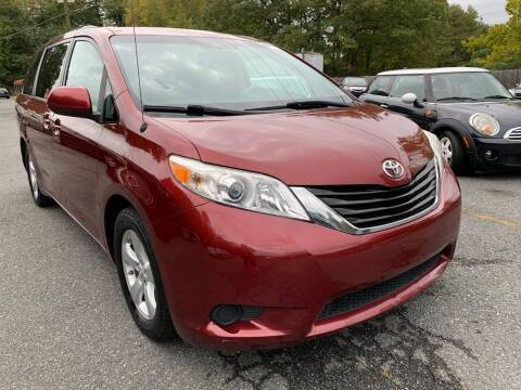 2011 Toyota Sienna for sale at D & M Discount Auto Sales in Stafford VA