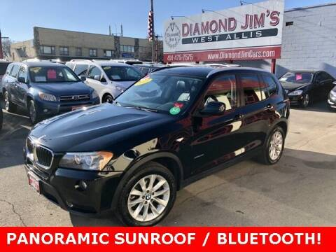 2013 BMW X3 for sale at Diamond Jim's West Allis in West Allis WI