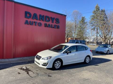 2015 Subaru Impreza for sale at Dandy's Auto Sales in Forest Lake MN