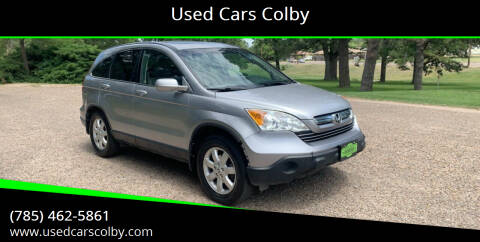 2008 Honda CR-V for sale at Used Cars Colby in Colby KS