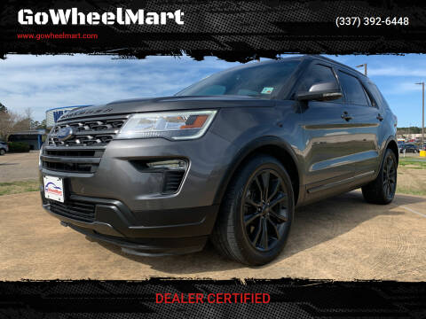 2018 Ford Explorer for sale at GOWHEELMART in Available In LA