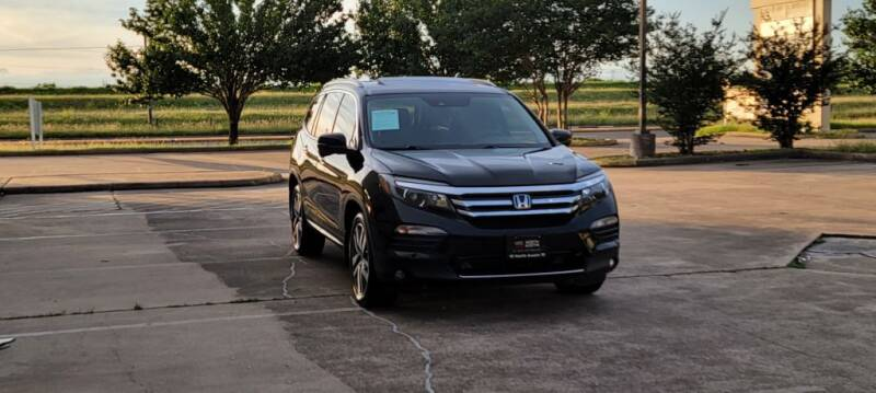 2016 Honda Pilot for sale at America's Auto Financial in Houston TX