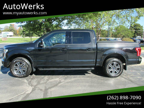 2015 Ford F-150 for sale at AutoWerks in Sturtevant WI