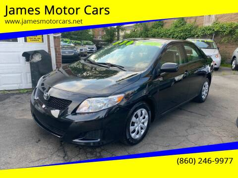 2010 Toyota Corolla for sale at James Motor Cars in Hartford CT