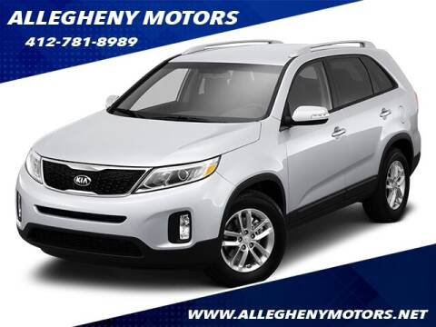 2014 Kia Sorento for sale at Allegheny Motors in Pittsburgh PA