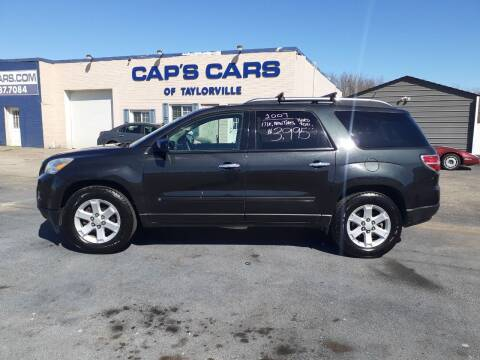 2007 Saturn Outlook for sale at Caps Cars Of Taylorville in Taylorville IL