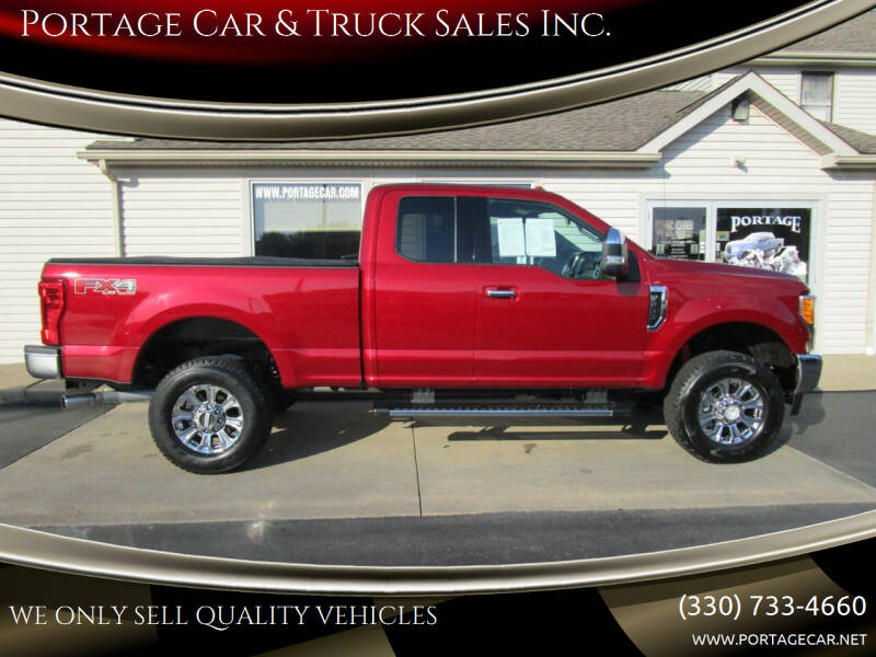 2017 Ford F-250 Super Duty for sale at Portage Car & Truck Sales Inc. in Akron OH