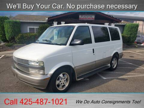 2003 Chevrolet Astro for sale at Platinum Autos in Woodinville WA