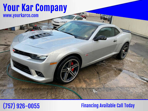 2014 Chevrolet Camaro for sale at Your Kar Company in Norfolk VA