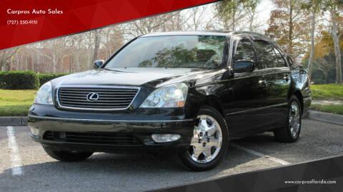 2001 Lexus LS 430 for sale at Carpros Auto Sales in Largo FL