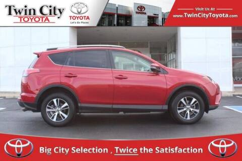 2017 Toyota RAV4 for sale at Twin City Toyota in Herculaneum MO