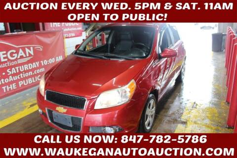 2011 Chevrolet Aveo for sale at Waukegan Auto Auction in Waukegan IL