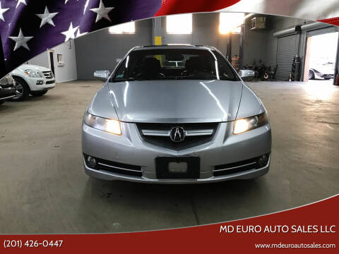2008 Acura TL for sale at MD Euro Auto Sales LLC in Hasbrouck Heights NJ