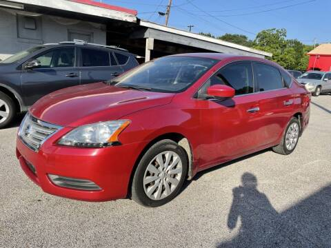 2014 Nissan Sentra for sale at Pary's Auto Sales in Garland TX