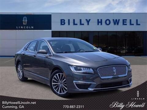 2019 Lincoln MKZ for sale at BILLY HOWELL FORD LINCOLN in Cumming GA