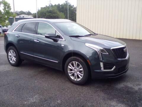 2021 Cadillac XT5 for sale at JOE BULLARD USED CARS in Mobile AL