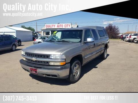 2000 Chevrolet Silverado 1500 for sale at Quality Auto City Inc. in Laramie WY