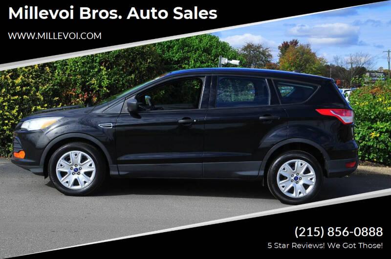 2013 Ford Escape for sale at Millevoi Bros. Auto Sales in Philadelphia PA