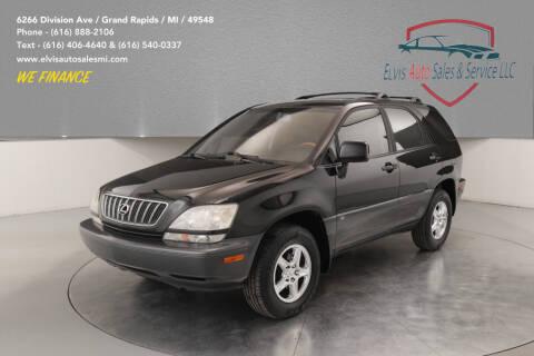 2003 Lexus RX 300 for sale at Elvis Auto Sales LLC in Grand Rapids MI
