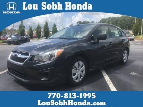 2013 Subaru Impreza for sale at Lou Sobh Honda in Cumming GA