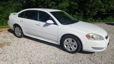 2011 Chevrolet Impala for sale at Victory Auto Sales LLC in Mooreville MS
