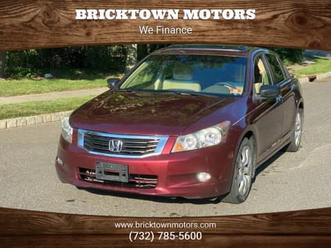 2009 Honda Accord for sale at Bricktown Motors in Brick NJ
