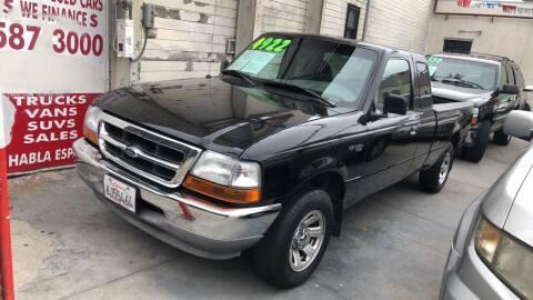 2000 Ford Ranger for sale at Excelsior Motors , Inc in San Francisco CA