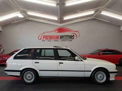 1988 BMW 3 Series for sale at Premium Motors in Villa Park IL